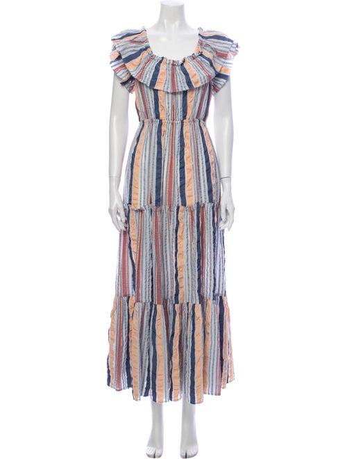 Ulla Johnson Striped Long Dress