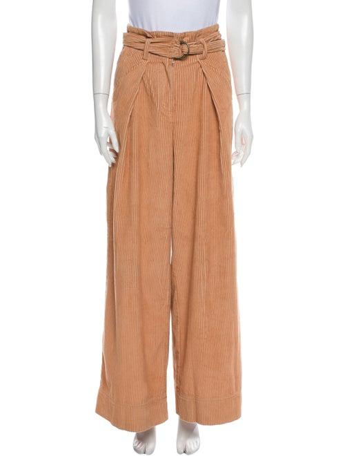 Ulla Johnson Wide Leg Pants Orange