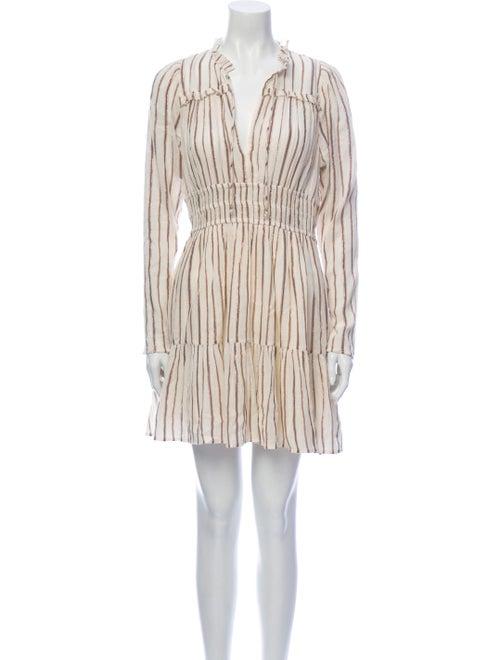 Ulla Johnson Striped Mini Dress
