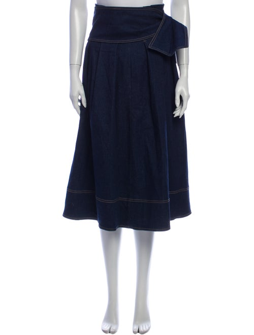 Ulla Johnson Midi Length Skirt Blue