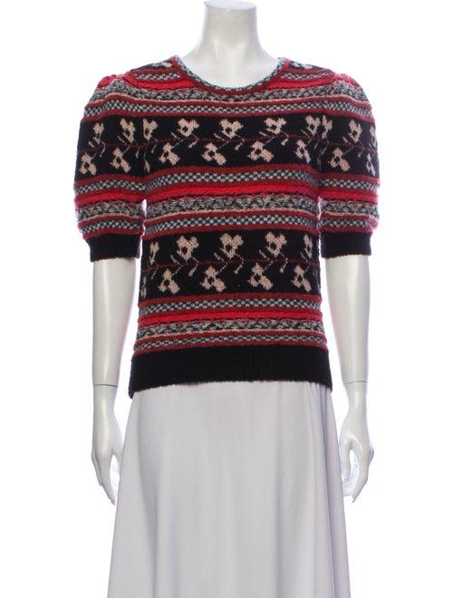 Ulla Johnson Wool Printed Sweater Wool