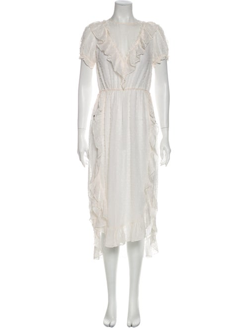 Ulla Johnson Silk Long Dress
