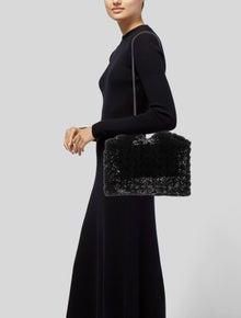 Ulla Johnson Woven Drawstring Shoulder Bag