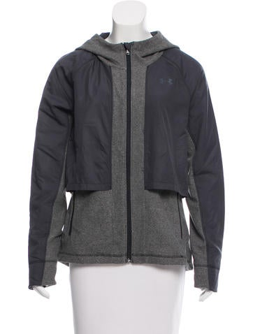 Under Armour Hooded Zip-Up Jacket w/ Tags None
