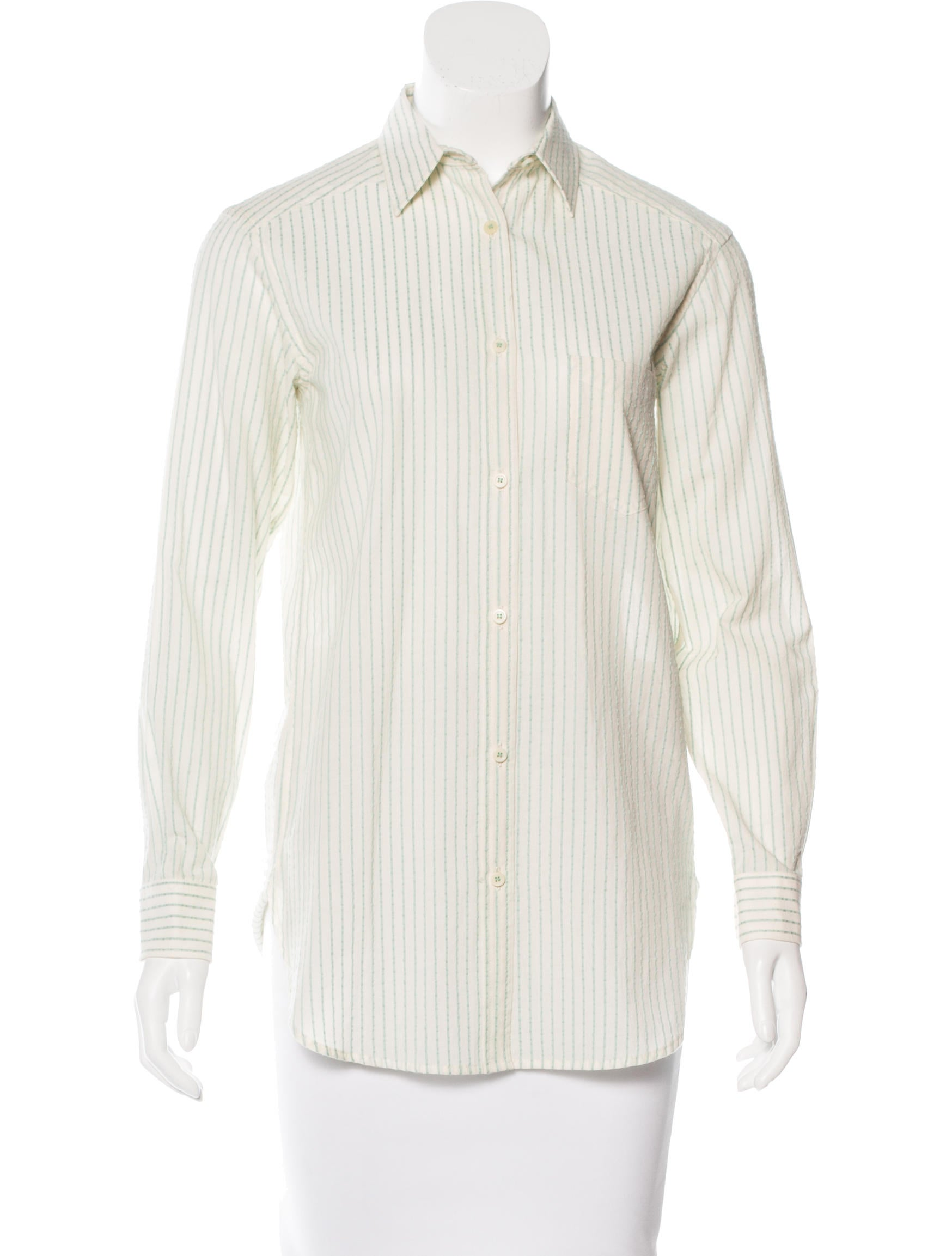 United bamboo striped button up top clothing for Bamboo button down shirts