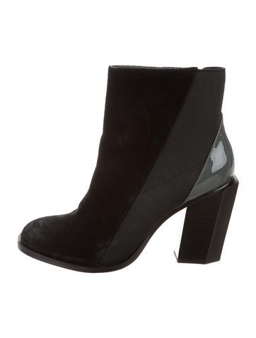 United Nude Suede Ankle Boots None