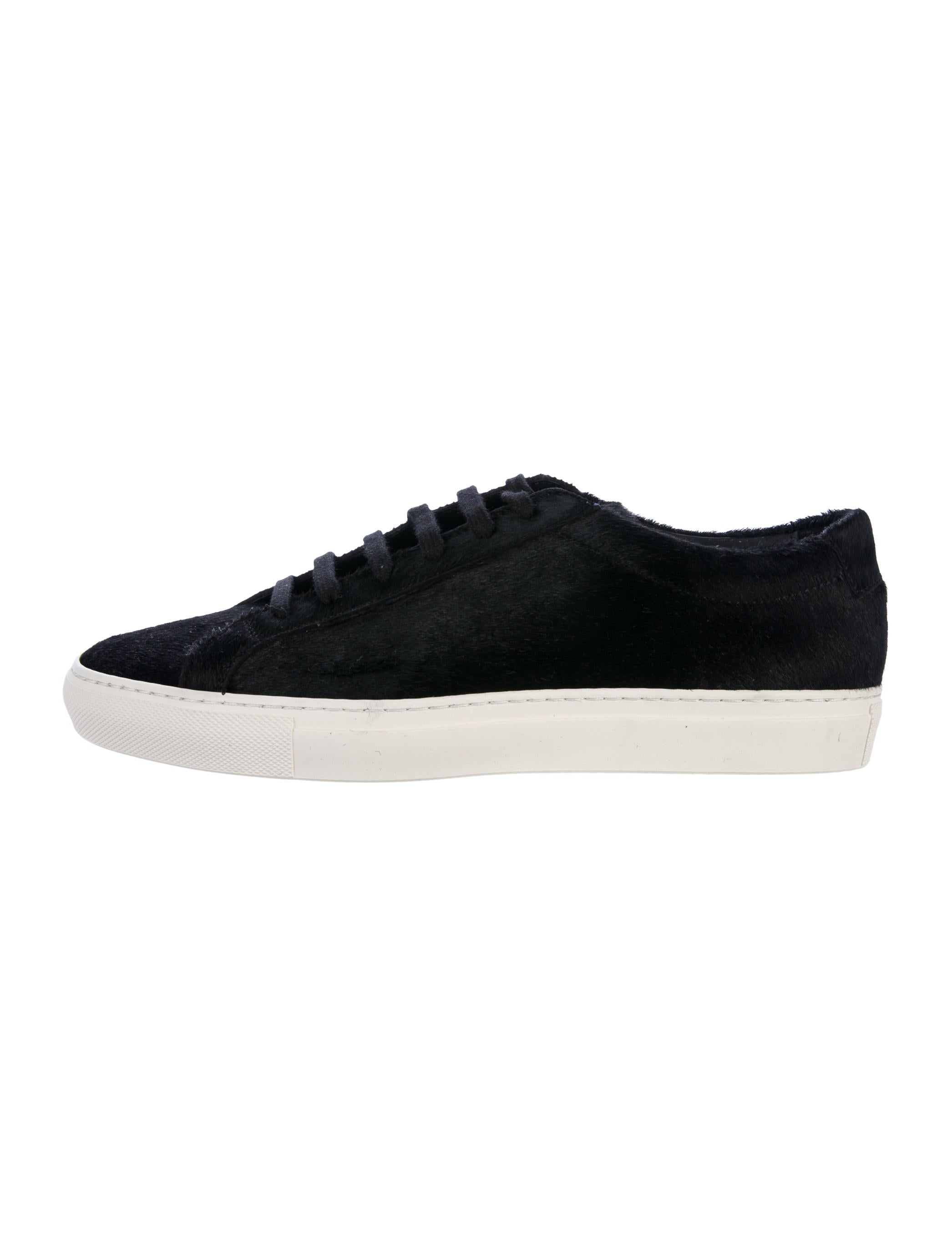 Woman by Common Projects Ponyhair Low-Top Sneakers prices cheap online mAECEEb