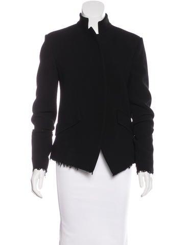 Urban Zen Long Sleeve Wool-Blend Blazer w/ Tags