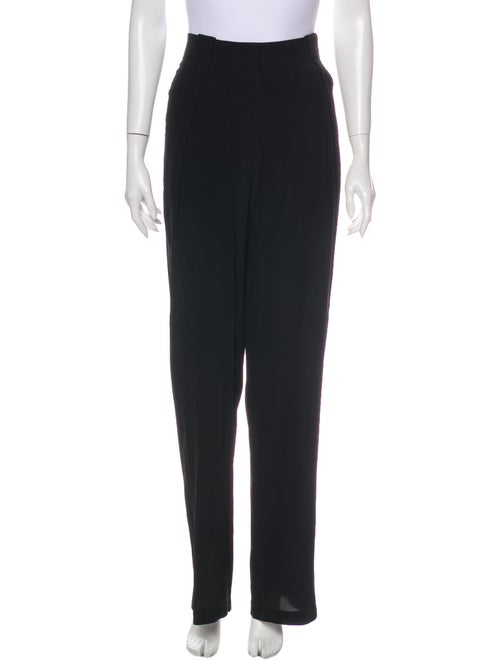 Urban Zen Silk Wide Leg Pants Black