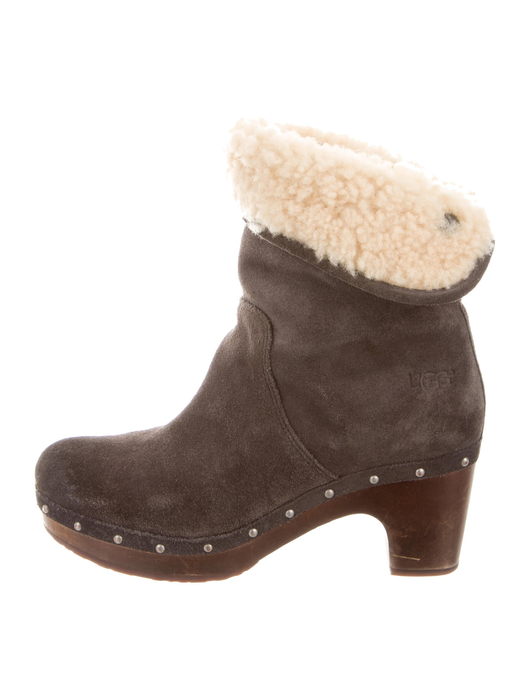 ugg australia suede lynnea ankle boots shoes