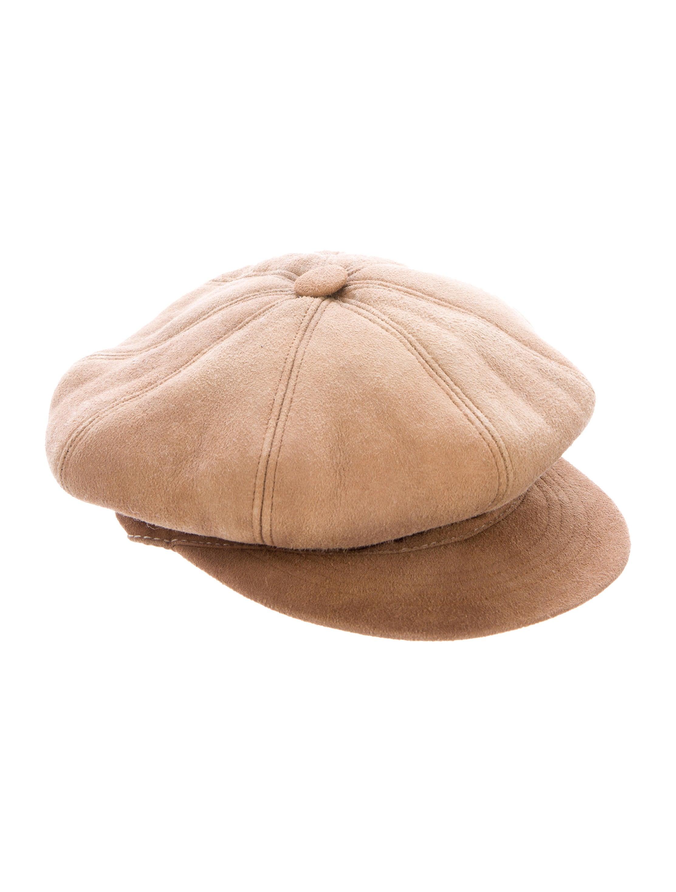 UGG Australia Shearling Newsboy Hat - Accessories - WUUGG20256  4cc06fd673b7