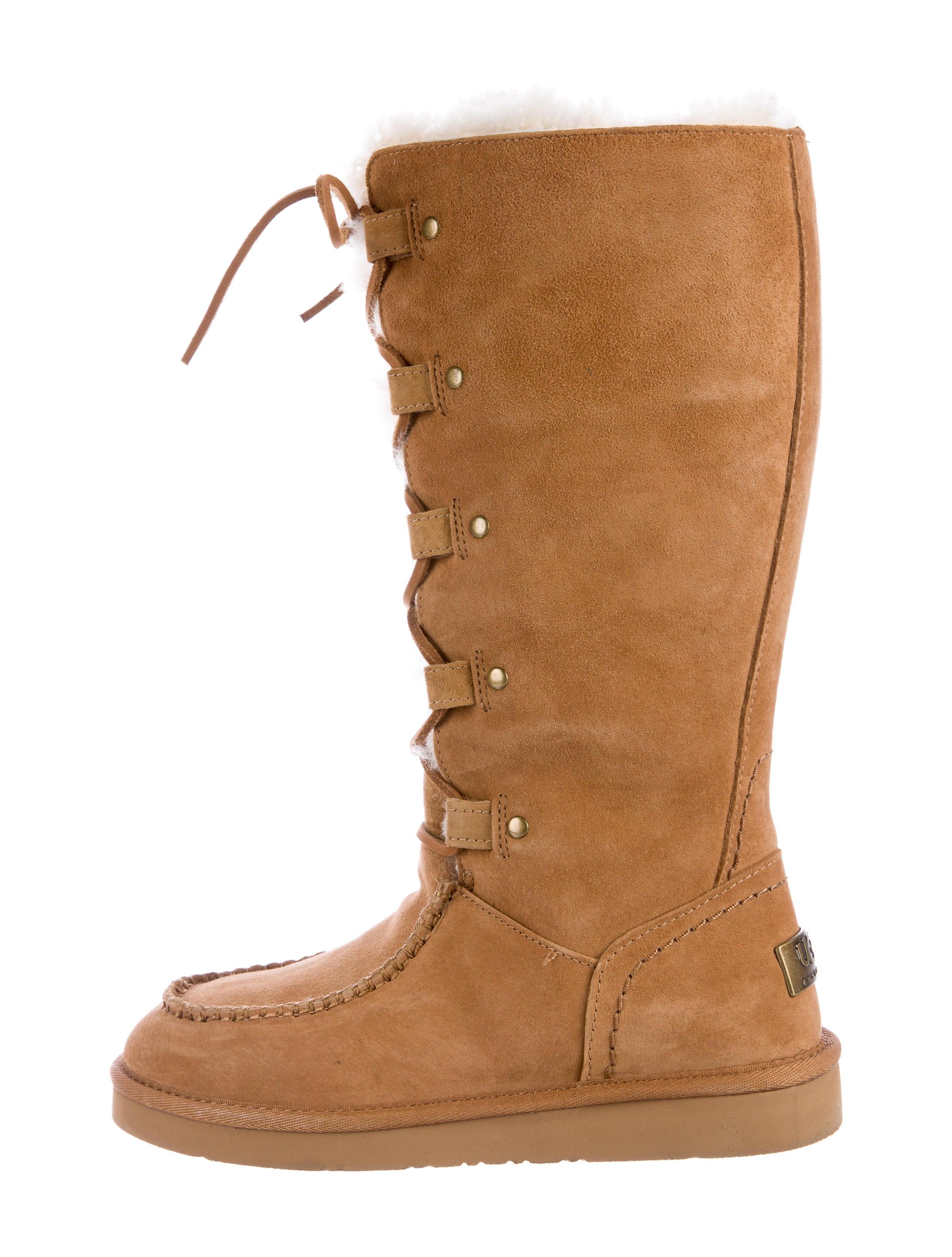 Ugg Australia Appalachian Lace Up Boots Shoes Wuugg20309 The