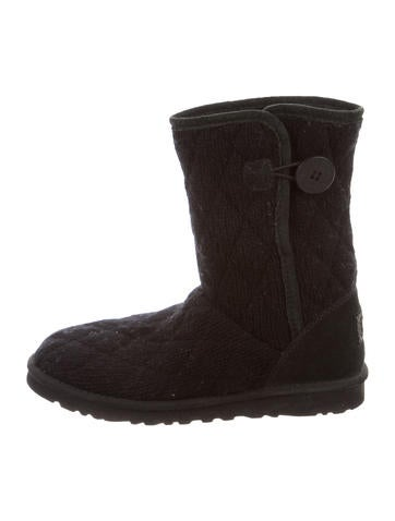 Ugg Australia Mountain Quilted Ankle Boots Shoes