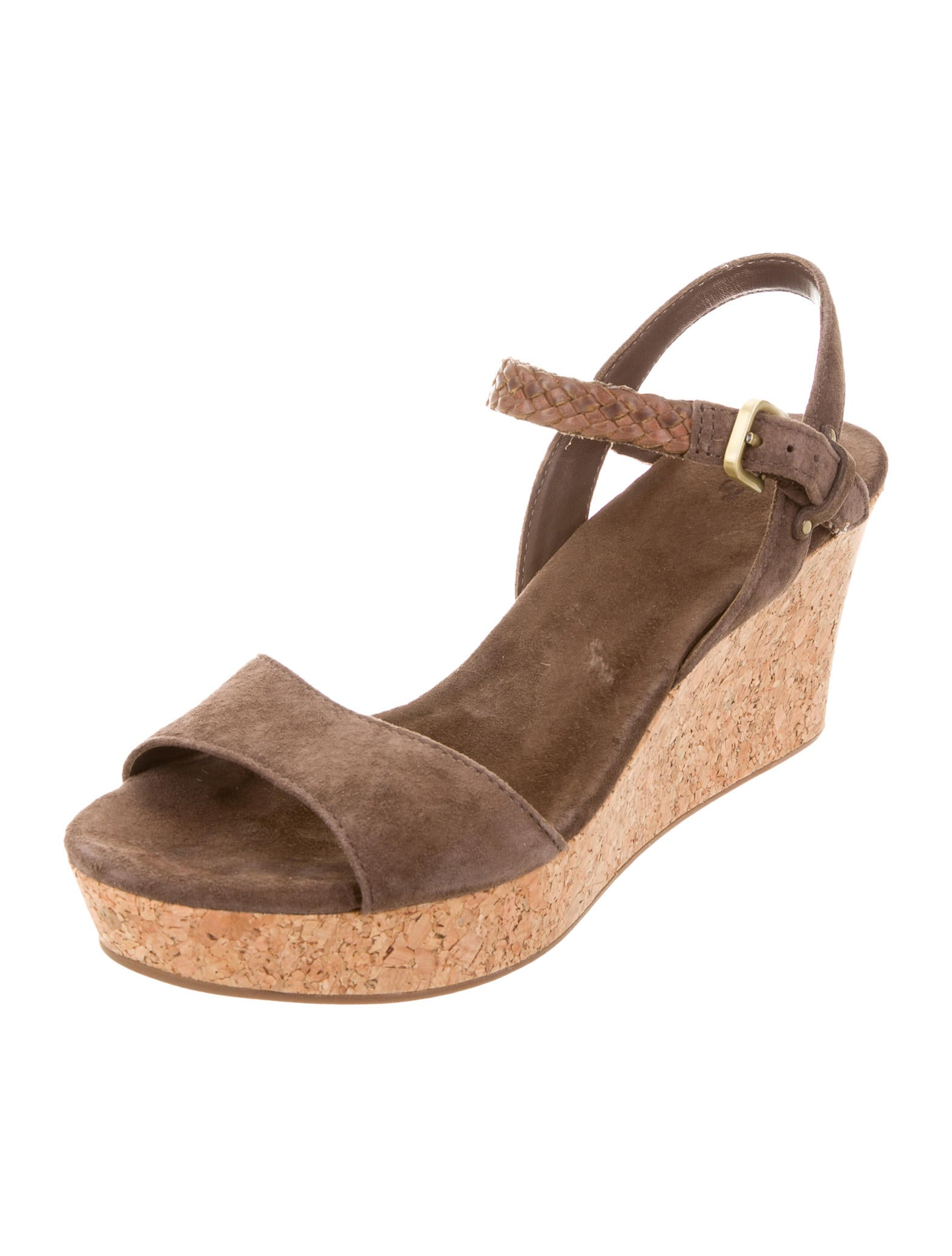 ugg australia d alessio platform wedges shoes