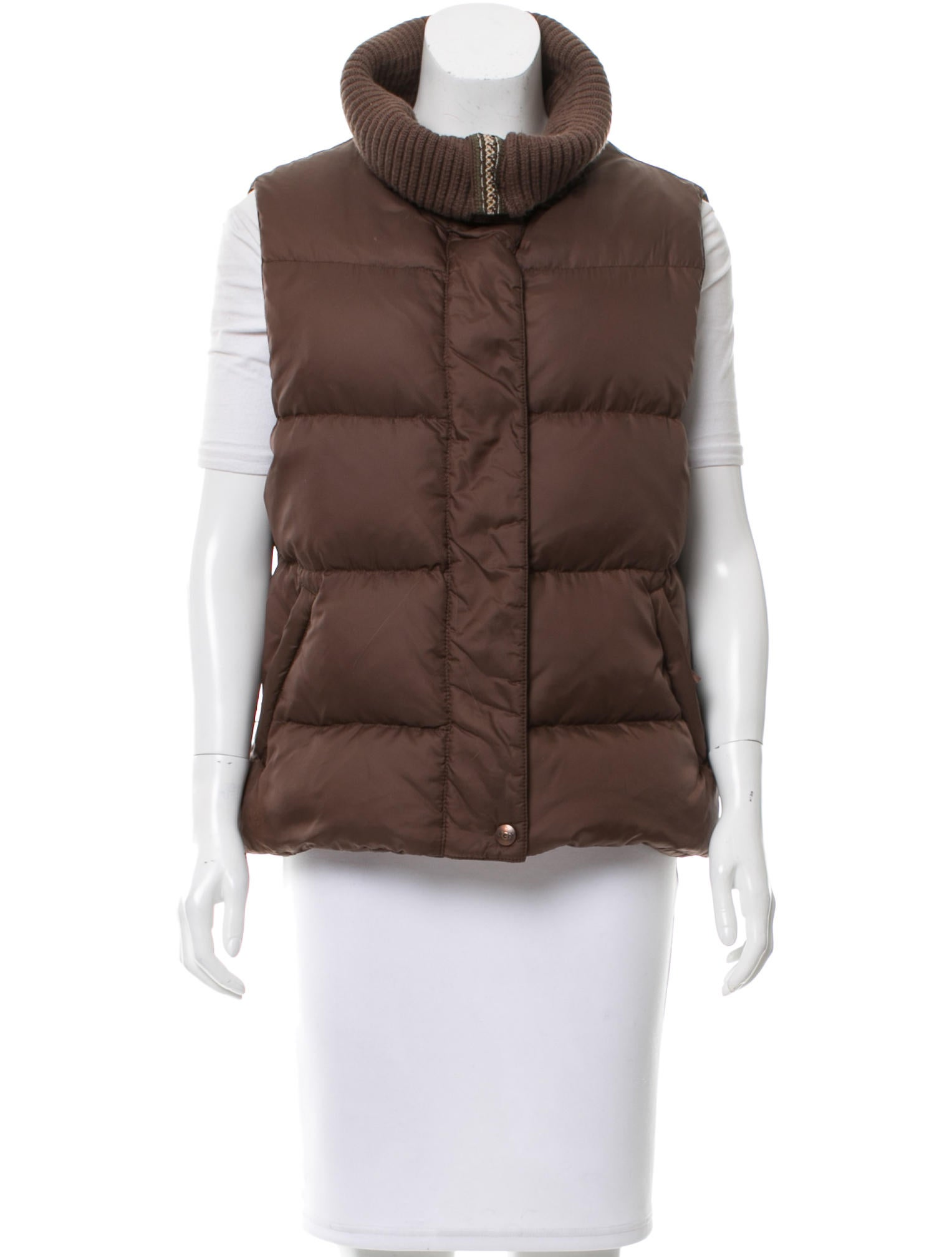 UGG Australia Shawl Collar Down Vest - Clothing - WUUGG20958  02155a060
