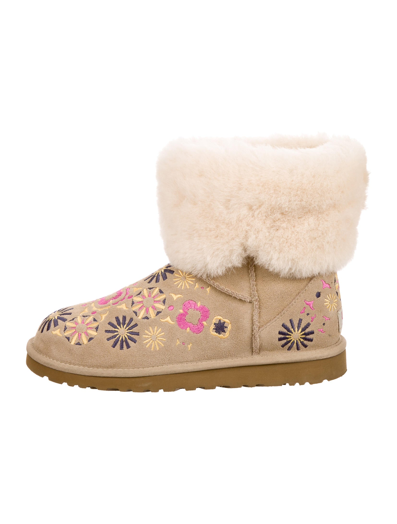 ugg fur heels