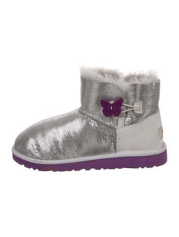 UGG bailey button bottes 5803 violet