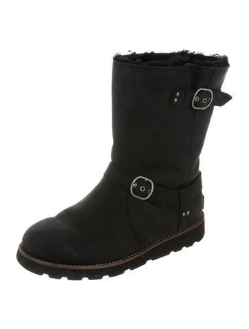 f345811a9ffa2 UGG Australia Noira Biker Boots - Shoes - WUUGG20996