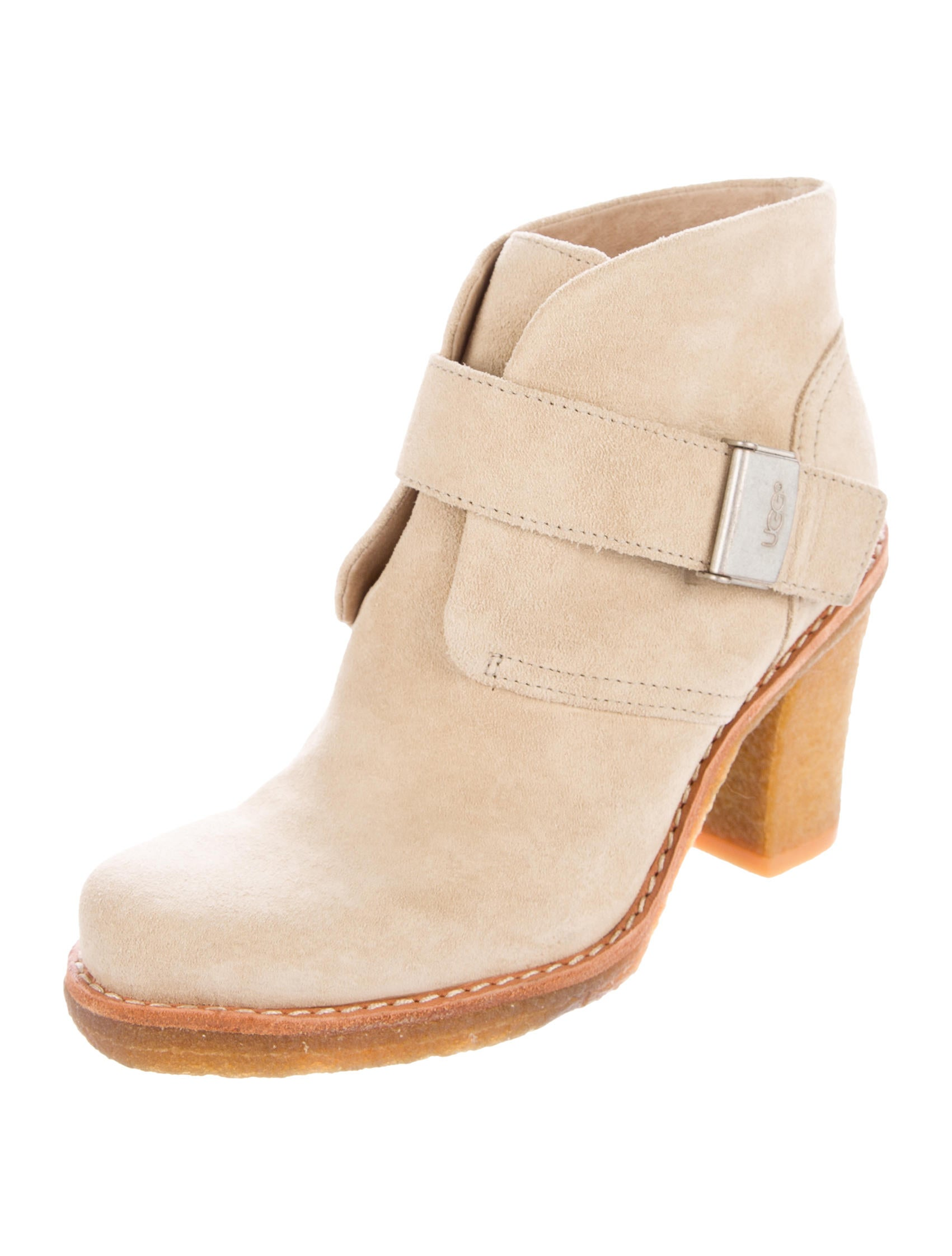 ugg australia brienne suede ankle boots shoes