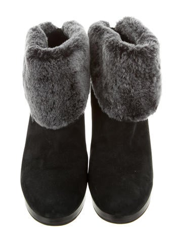 Shearling Ankle Boots