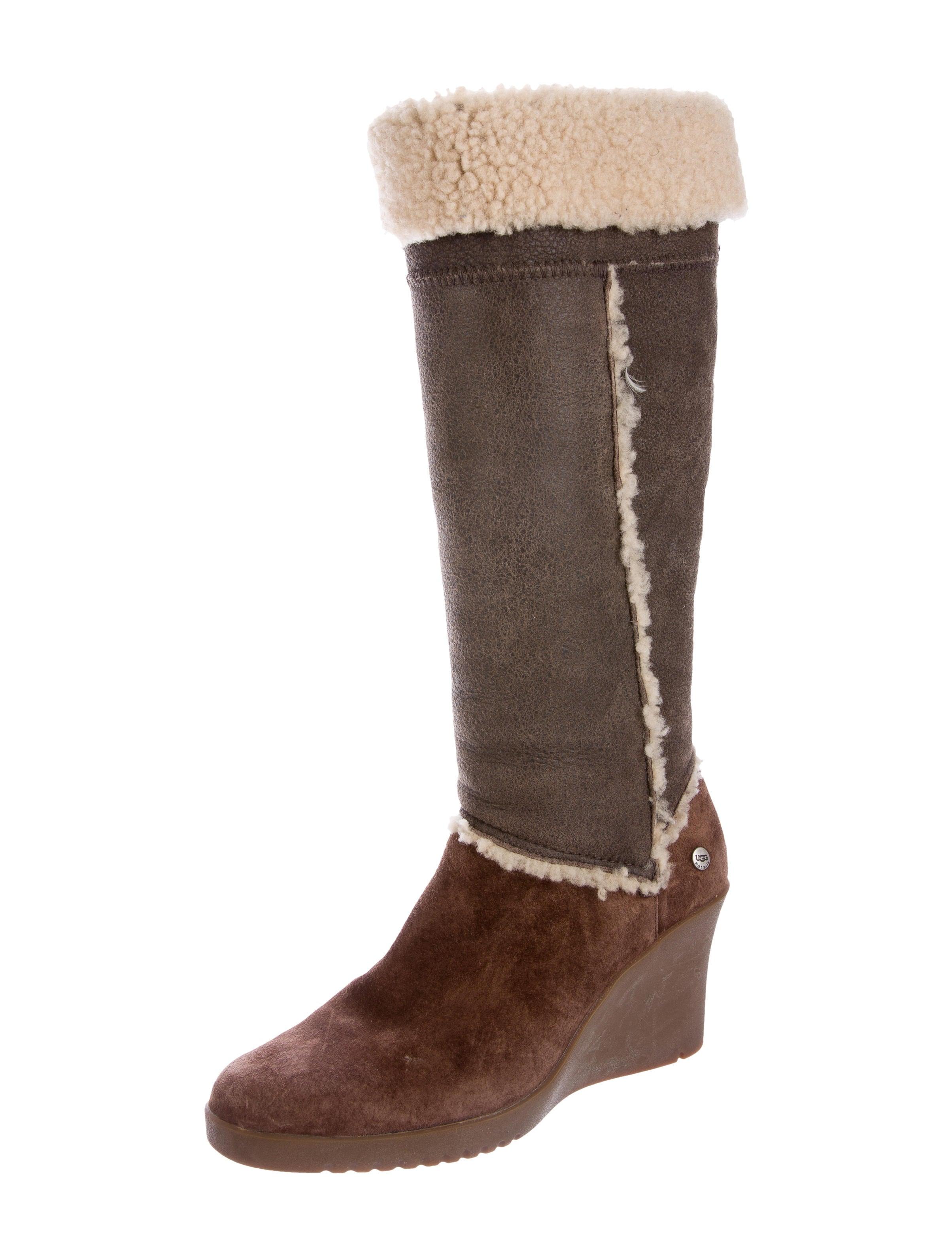 ugg australia wedge boots shoes wuugg21101