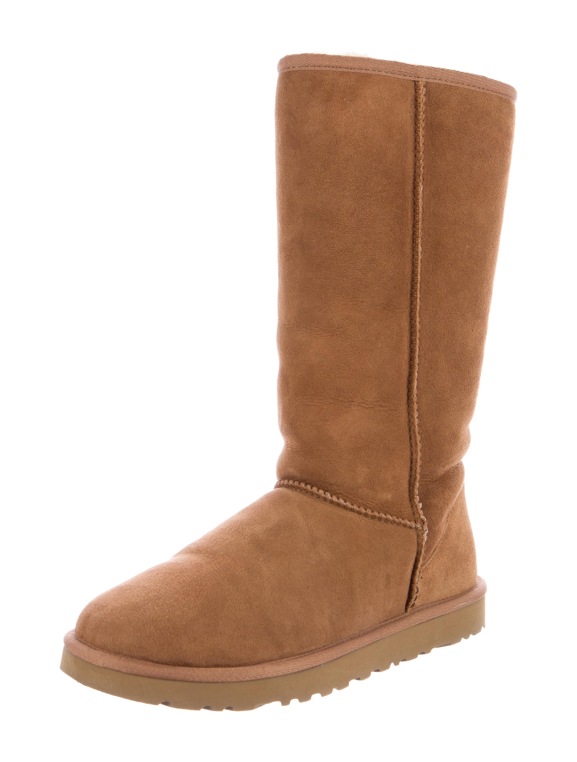Ugg Australia Suede Leather Tall Boots Shoes