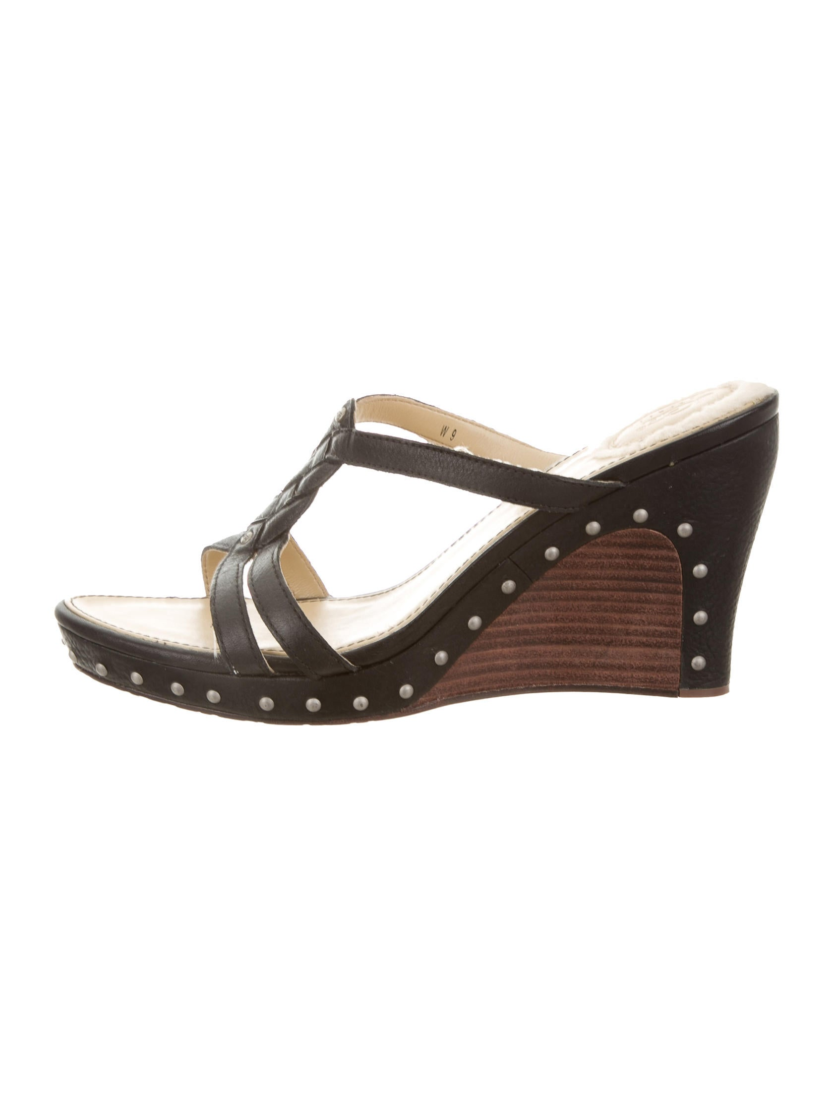 ugg australia studded leather wedges shoes wuugg21145