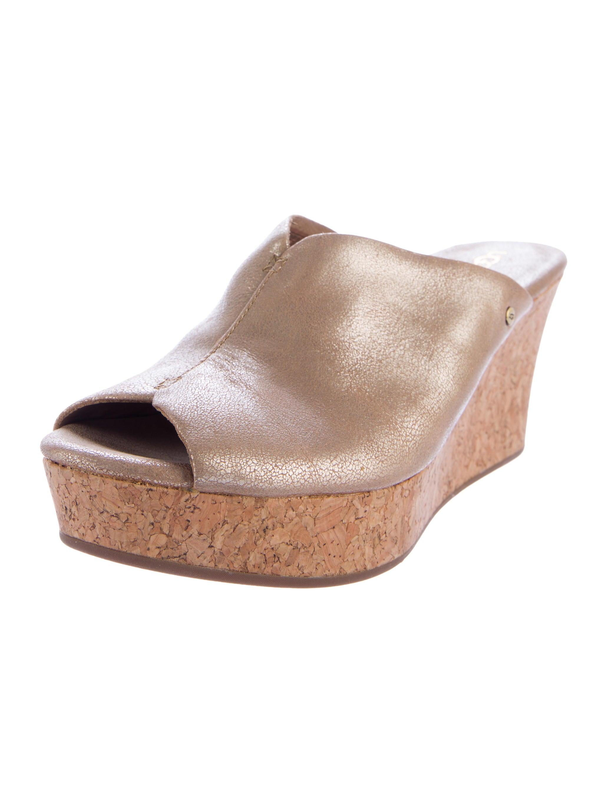 ugg australia dominique wedge sandals shoes wuugg21203