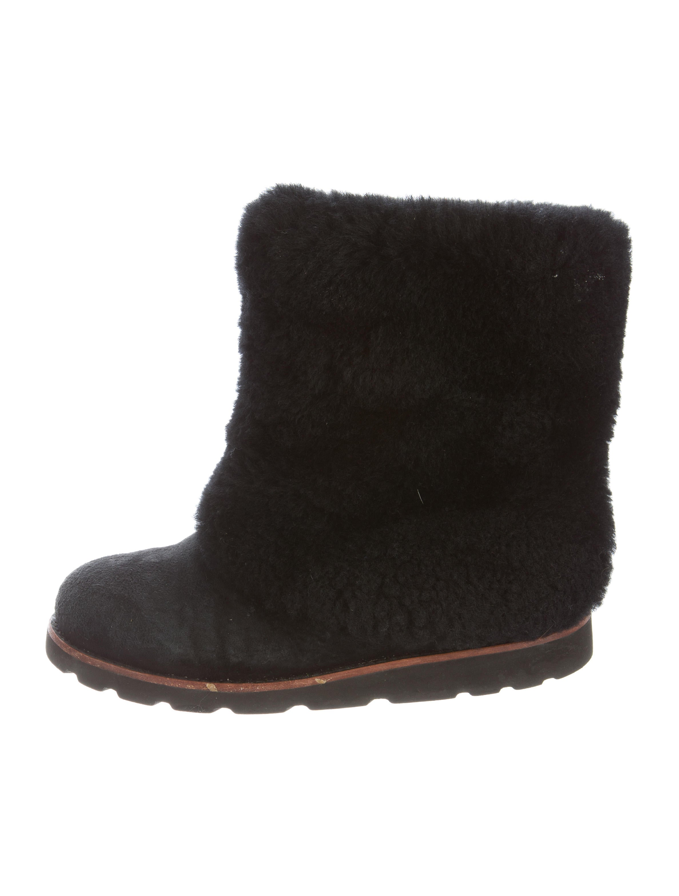 5bfb9be80c5 Maylin Shearling Ankle Boots