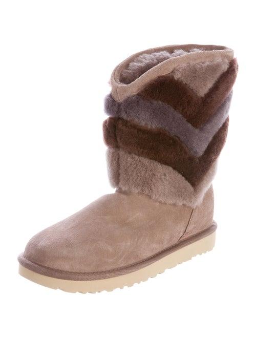 2183a58c4ea UGG Australia Tania Shearling Boots - Shoes - WUUGG21327 | The RealReal