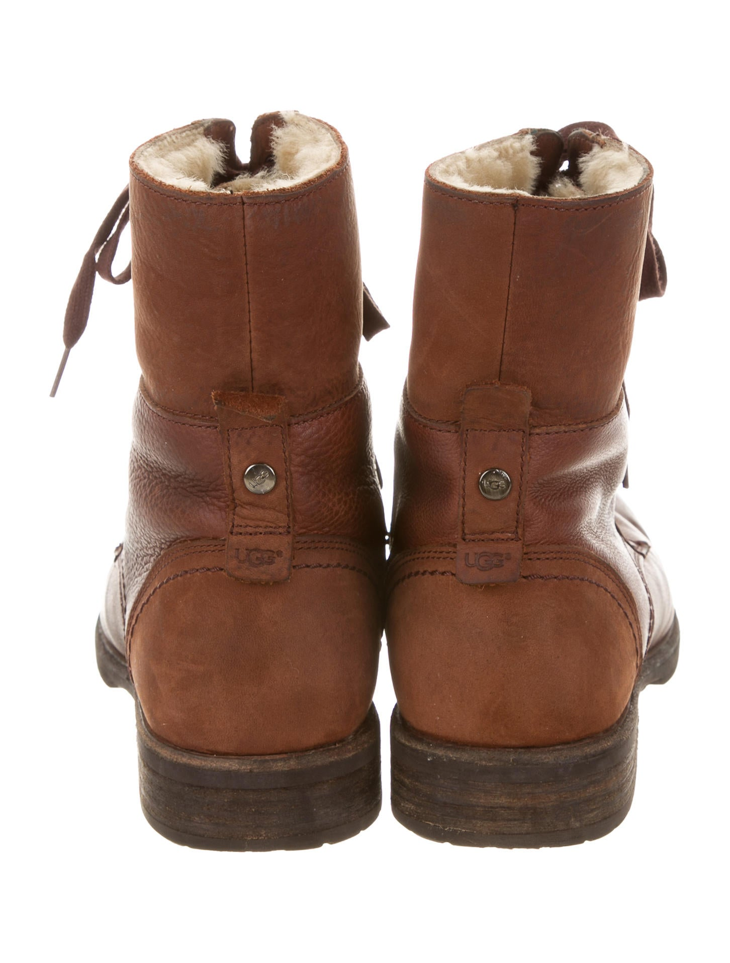 ugg australia leather shearling boots shoes wuugg21331