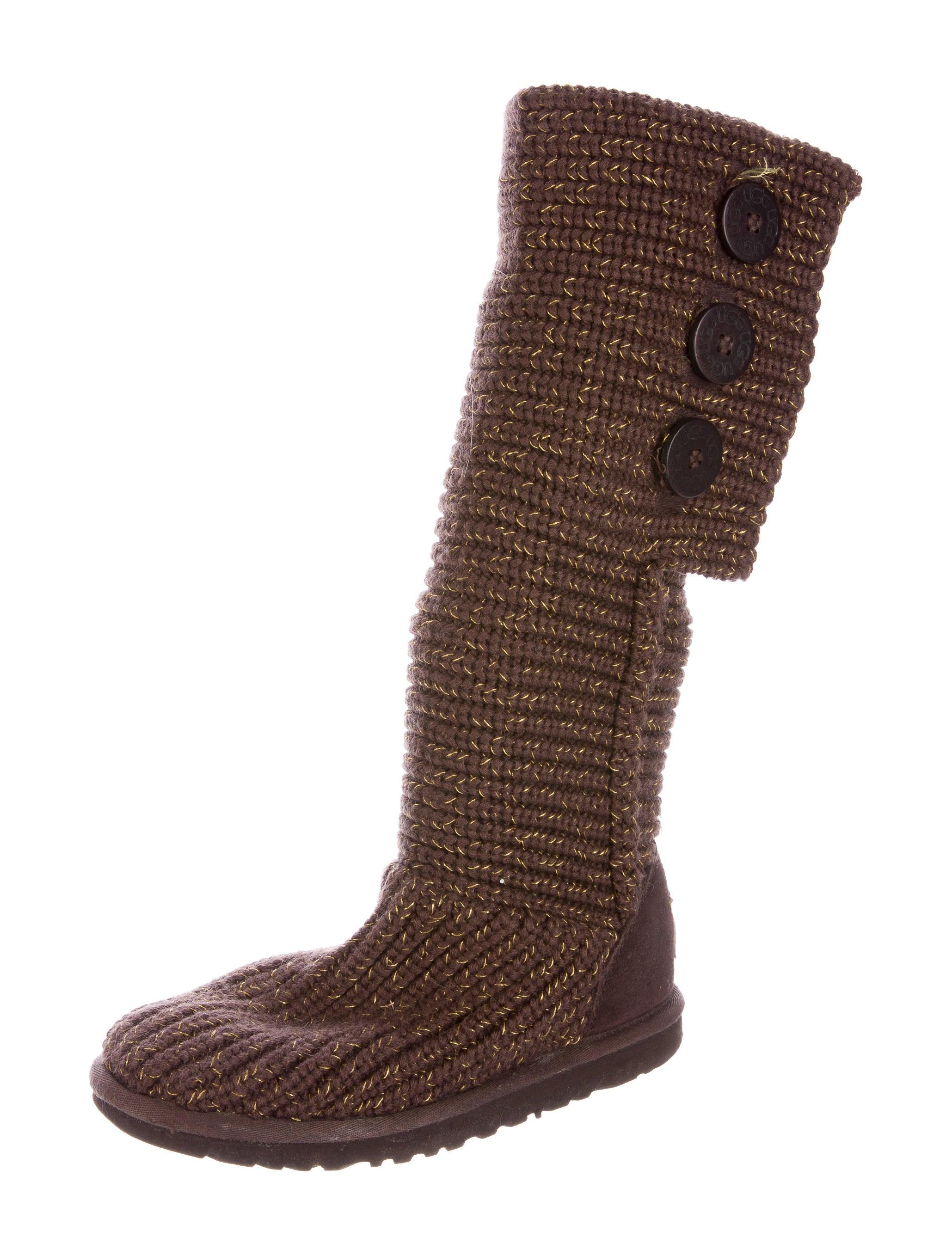 Knitting Websites Australia : Ugg australia cardy knit boots shoes wuugg the