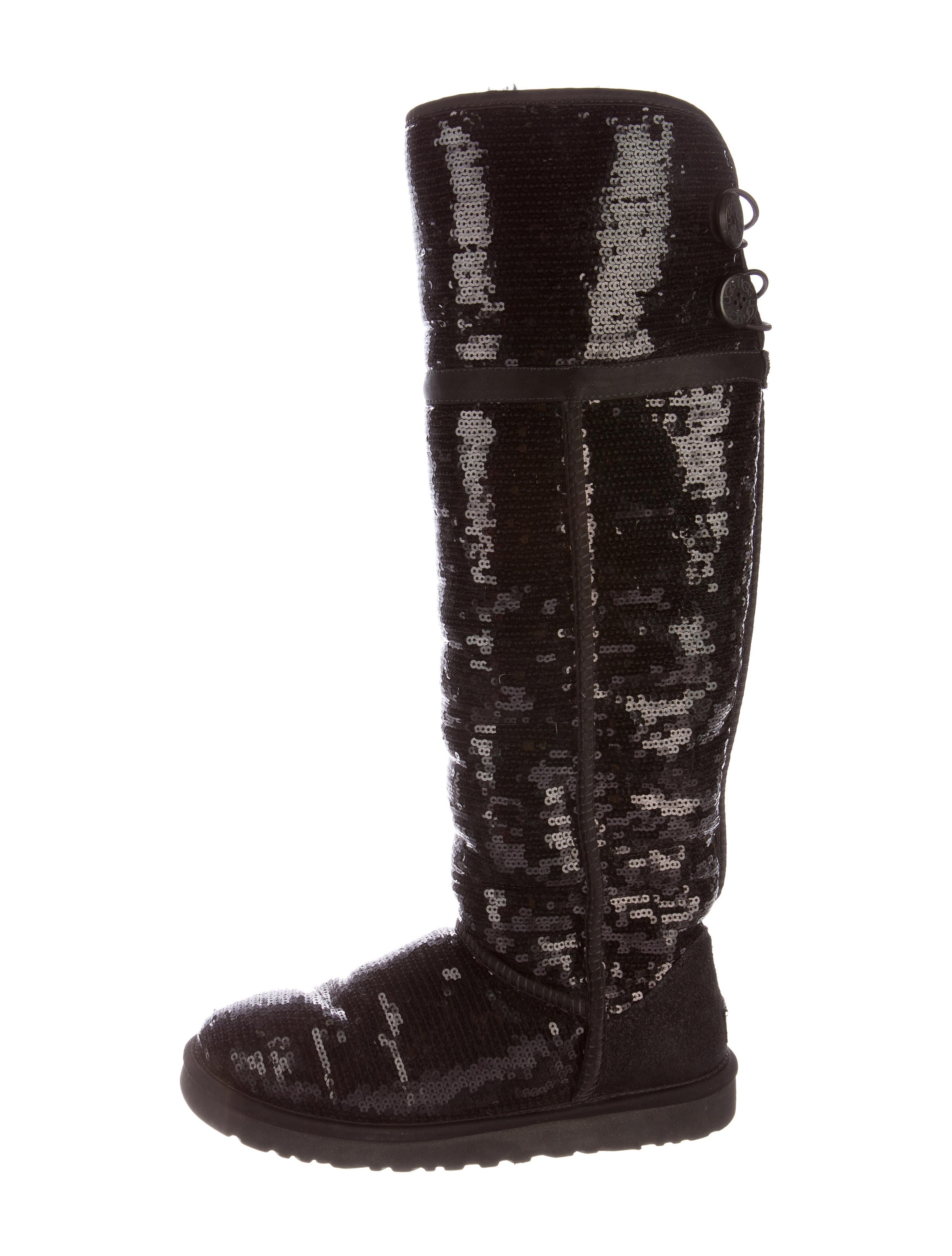 6eca4a61cc0 Over The Knee Sequin Ugg Boots