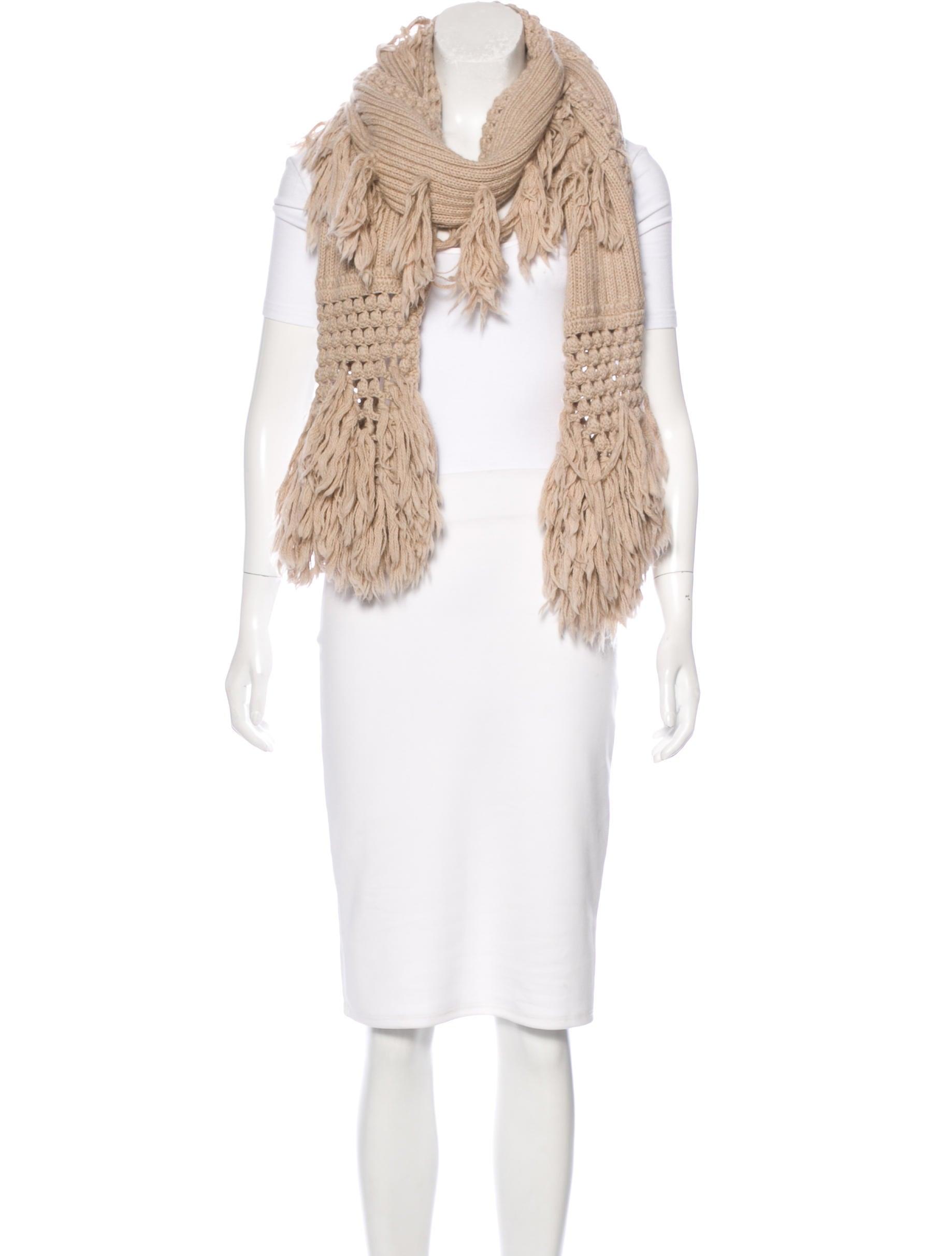 Knitting Websites Australia : Ugg australia rib knit wool blend scarf accessories