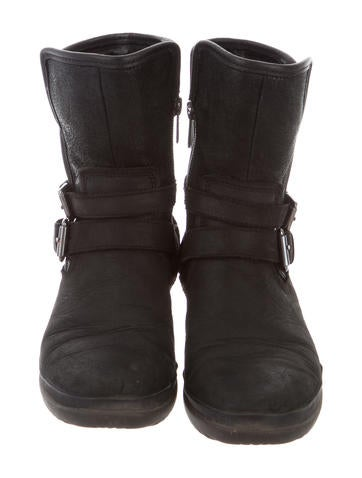 8ad0842567c Ugg Australia Side Zip Suede Short Boots - cheap watches mgc-gas.com