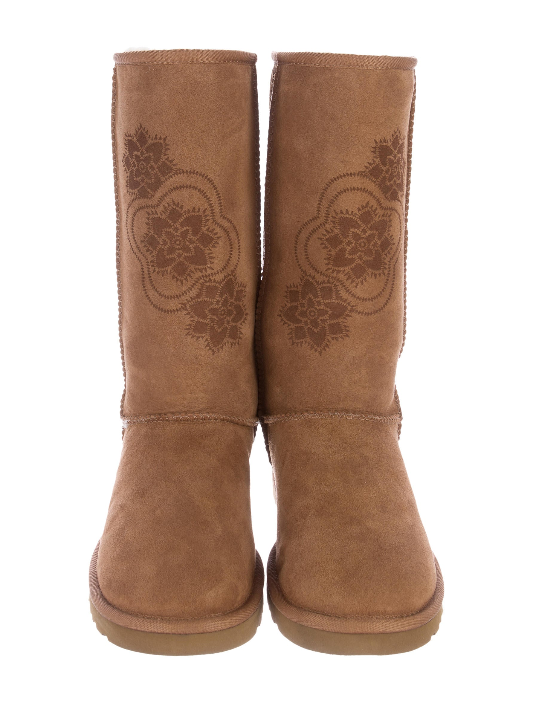 Embroidered Classic Tall Boots