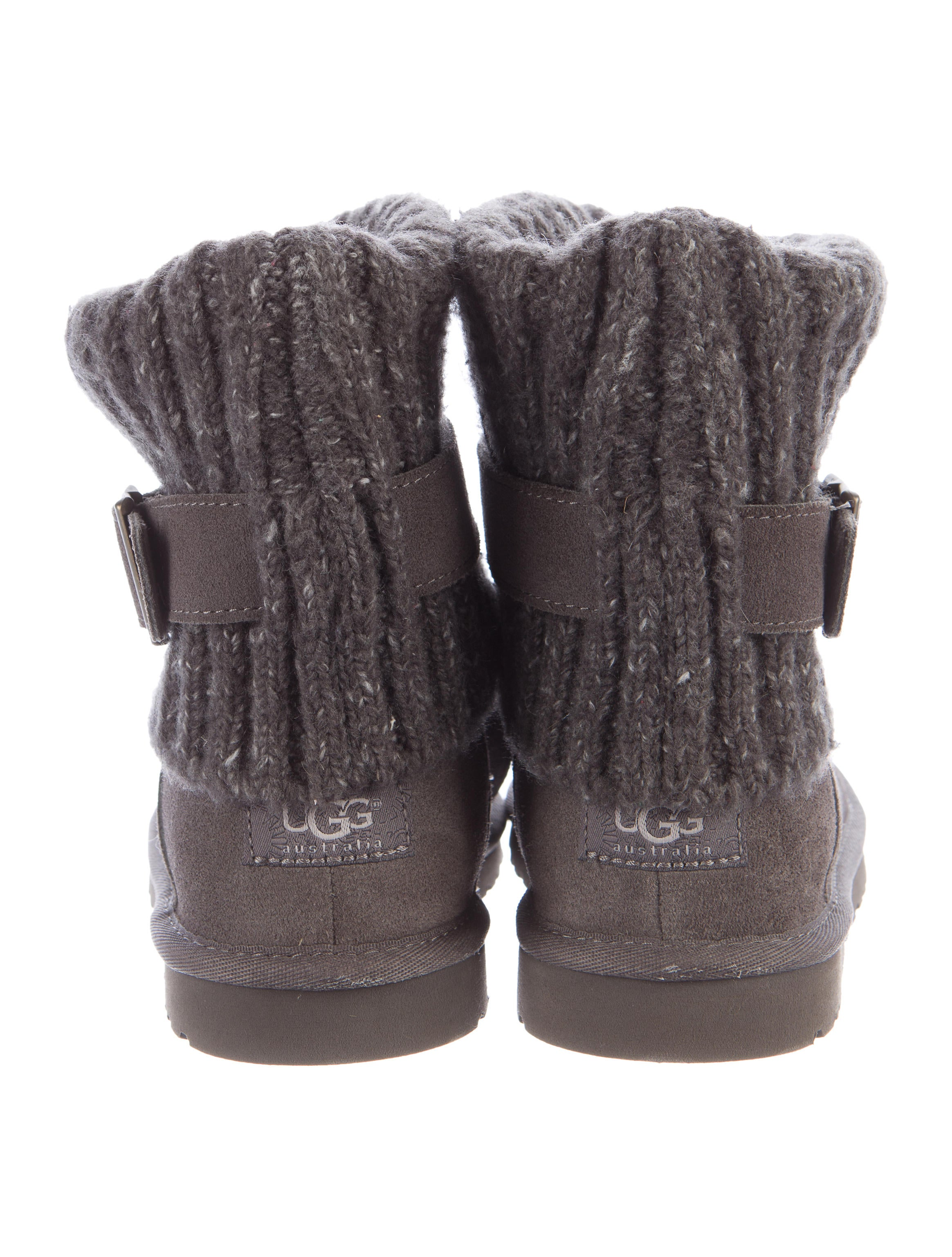 Ankle Ugg Boots With Knitted Ville Du Muy