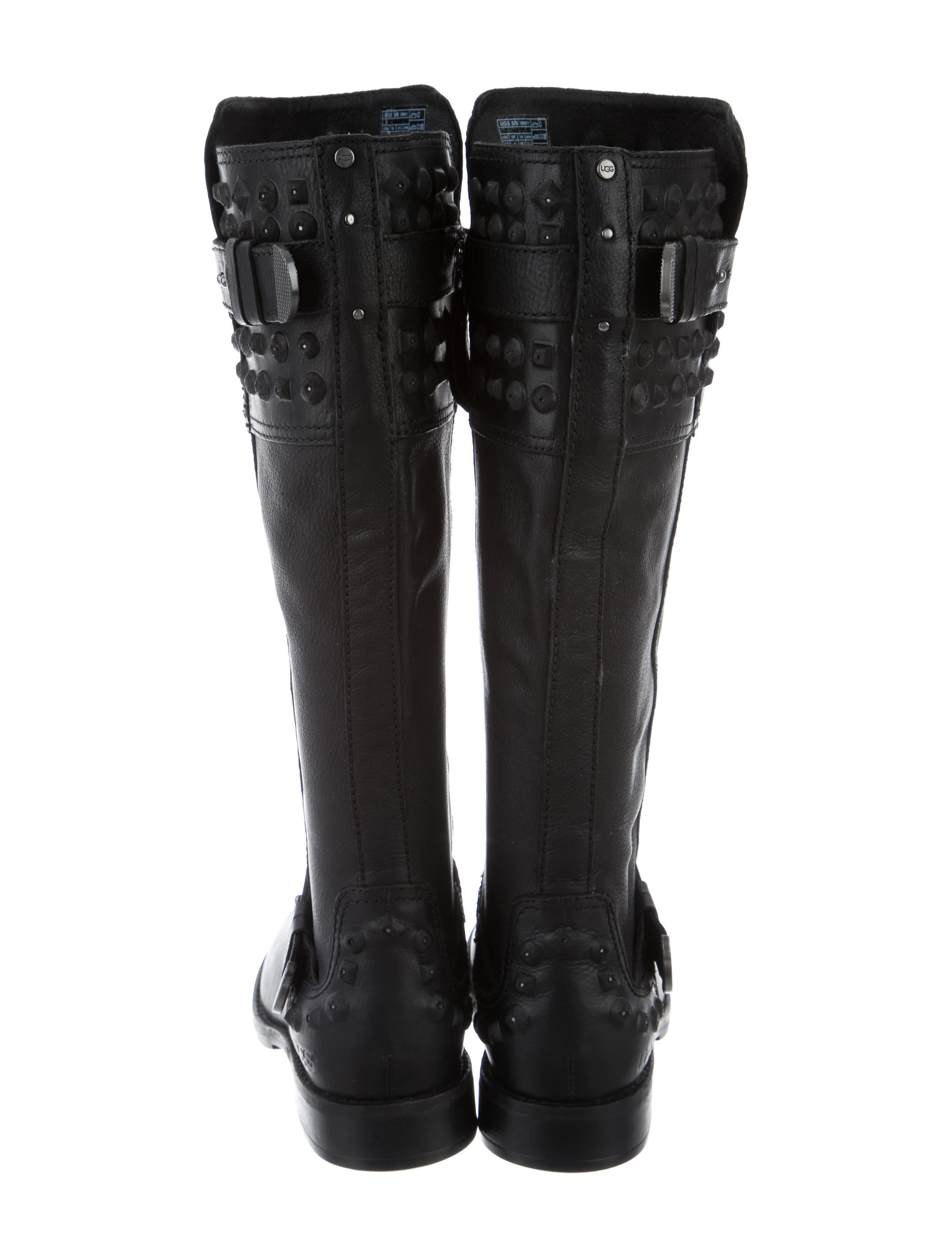 ugg australia studded knee high boots shoes wuugg21880