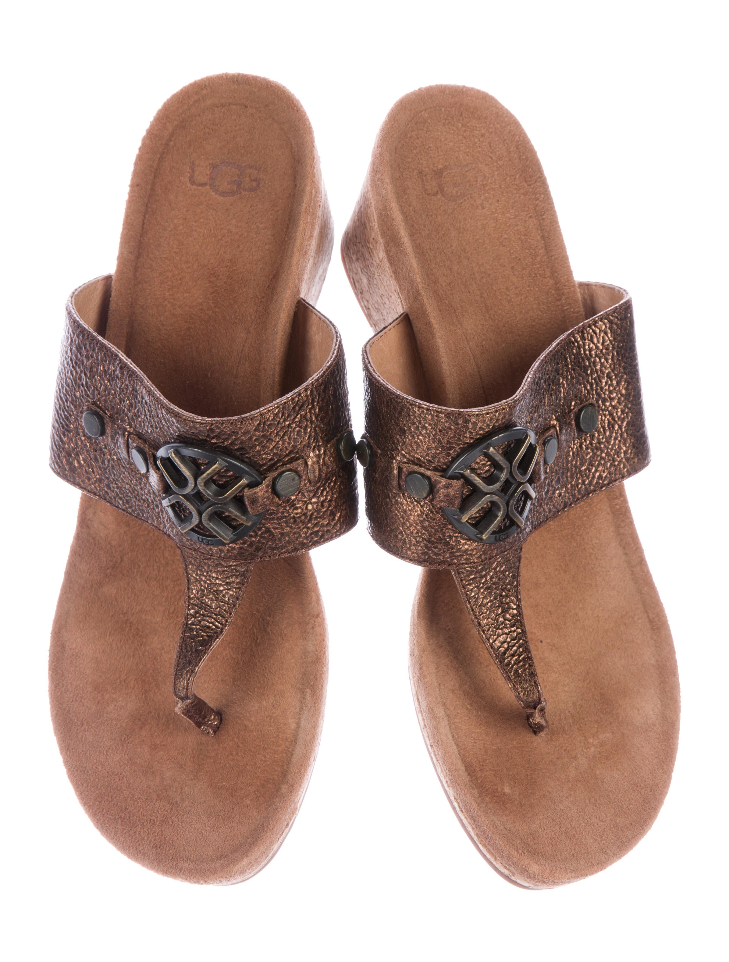 Ugg Australia Leather Thong Sandals Shoes Wuugg21890