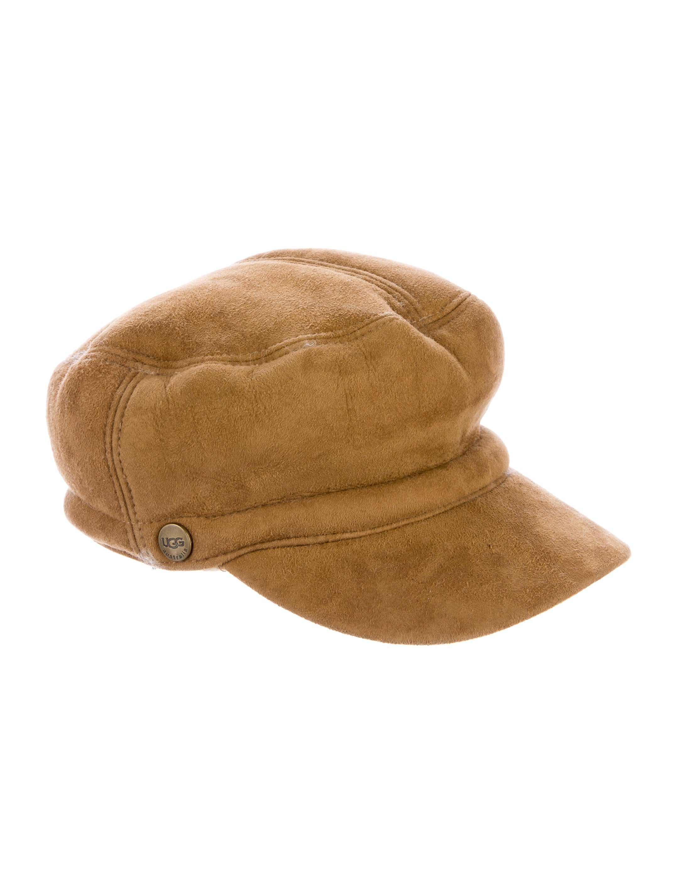 dff58000 UGG Australia Suede Shearling Hat - Accessories - WUUGG21974   The ...