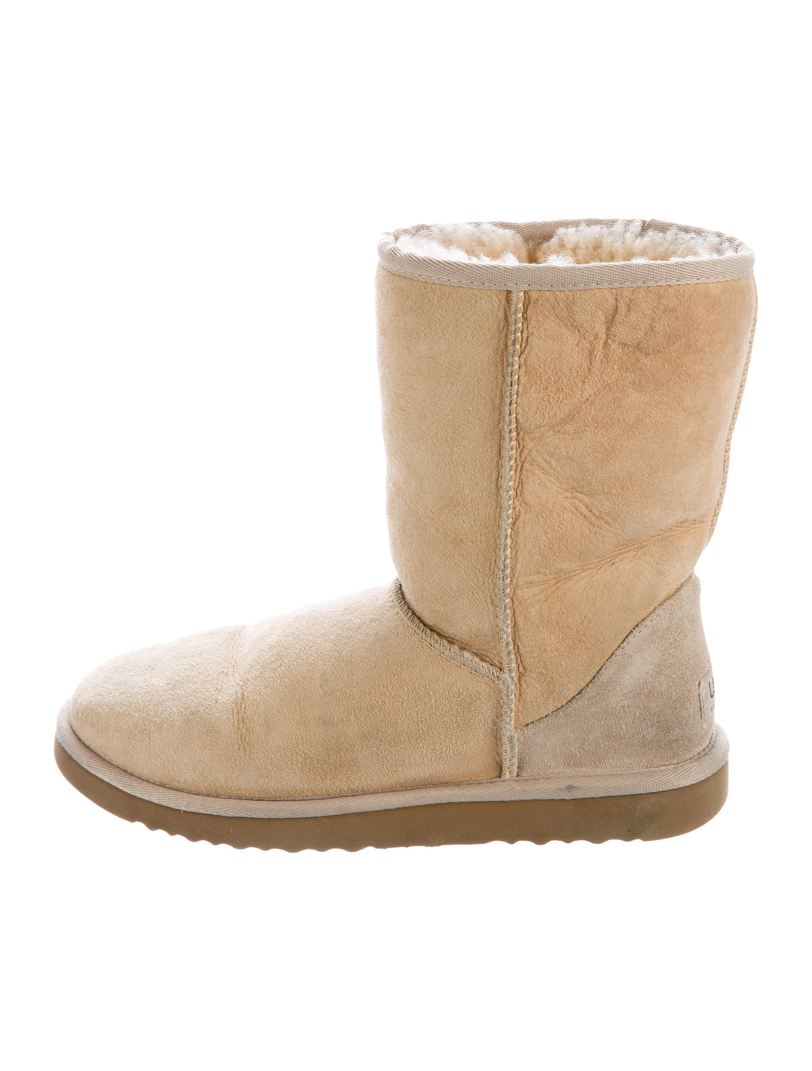 ugg australia suede toe ankle boots shoes