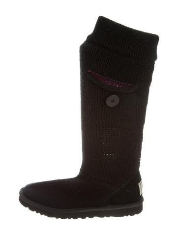 ugg australia shearling lined knee high boots shoes