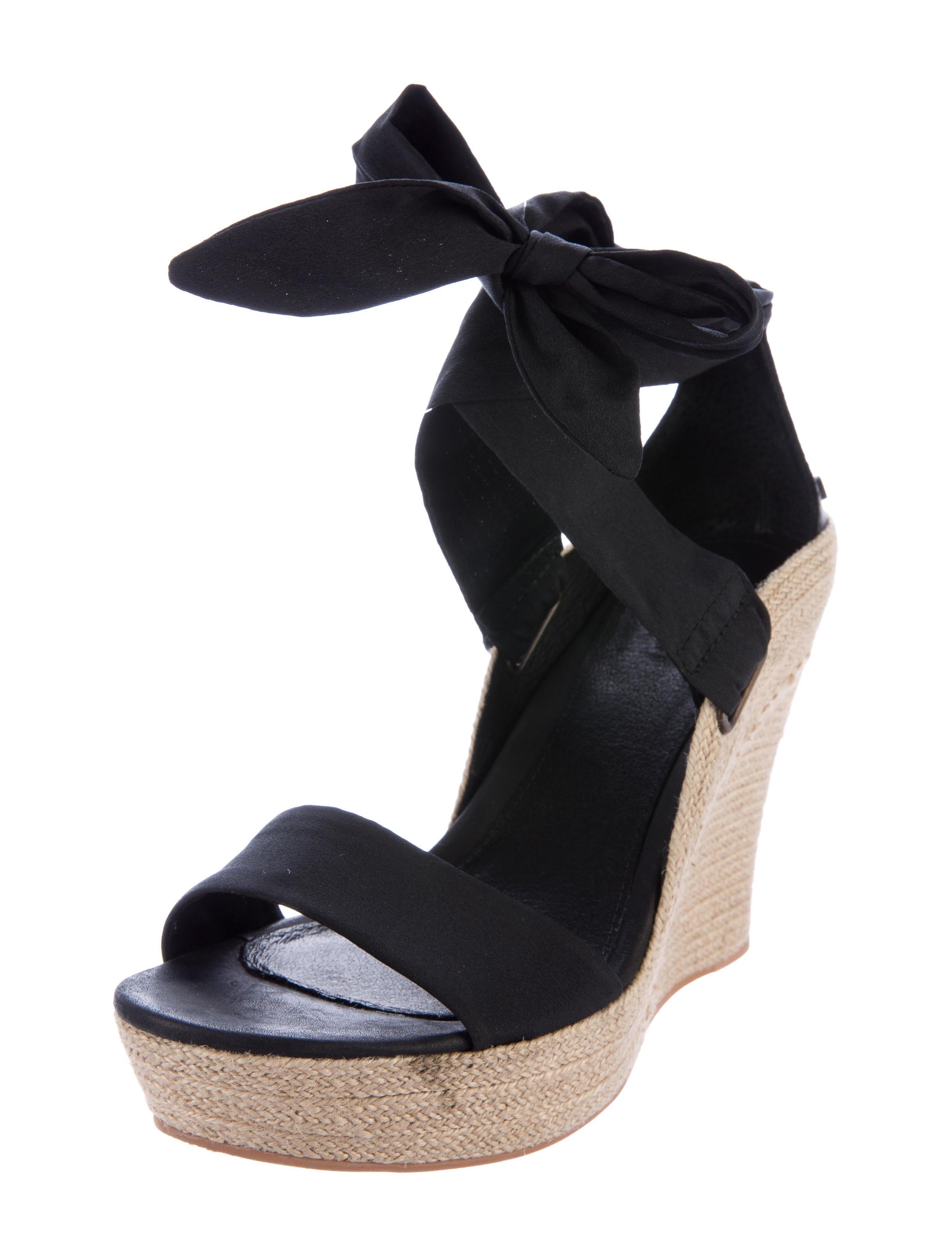 ugg australia platform espadrille wedges shoes