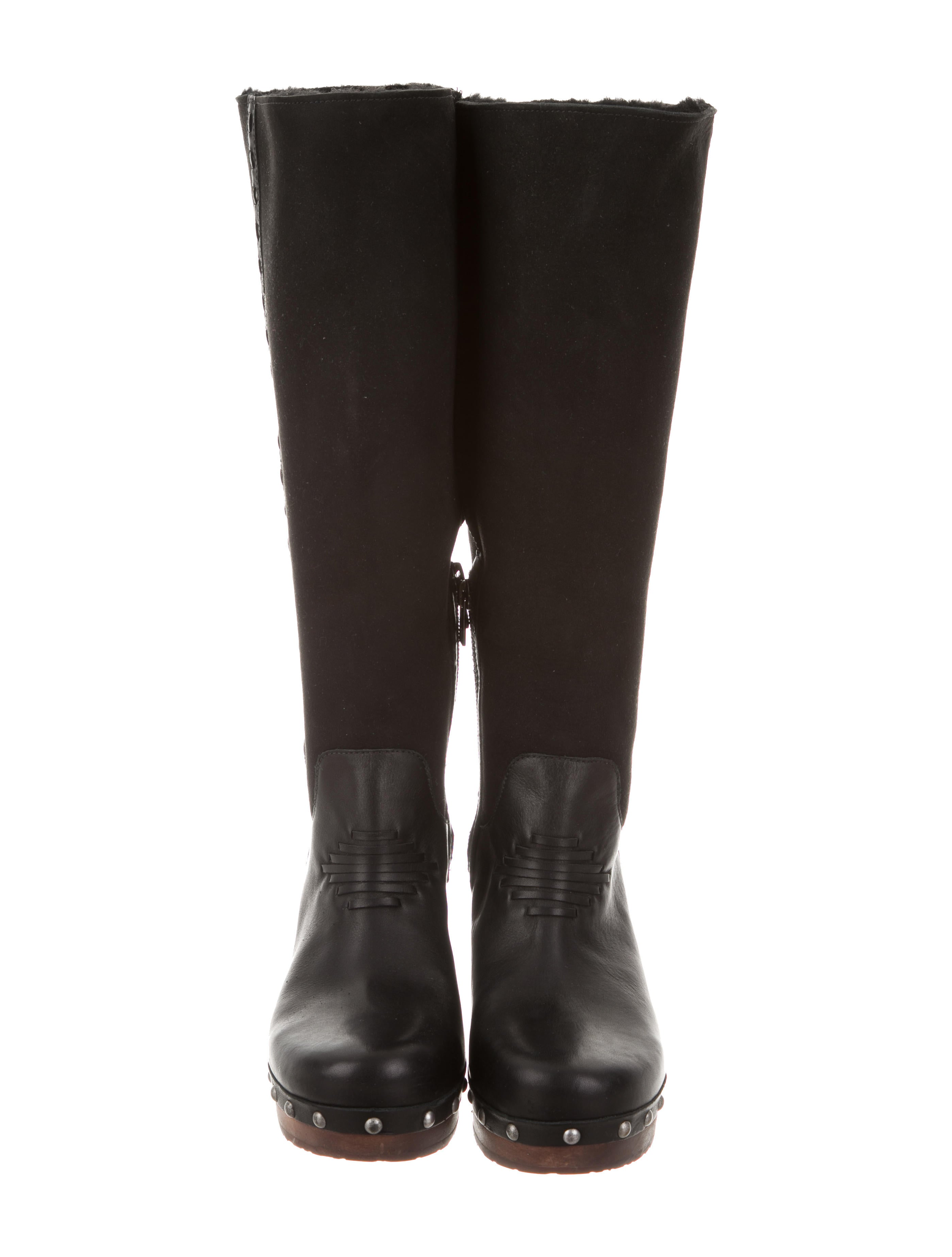 ugg australia platform knee high boots shoes
