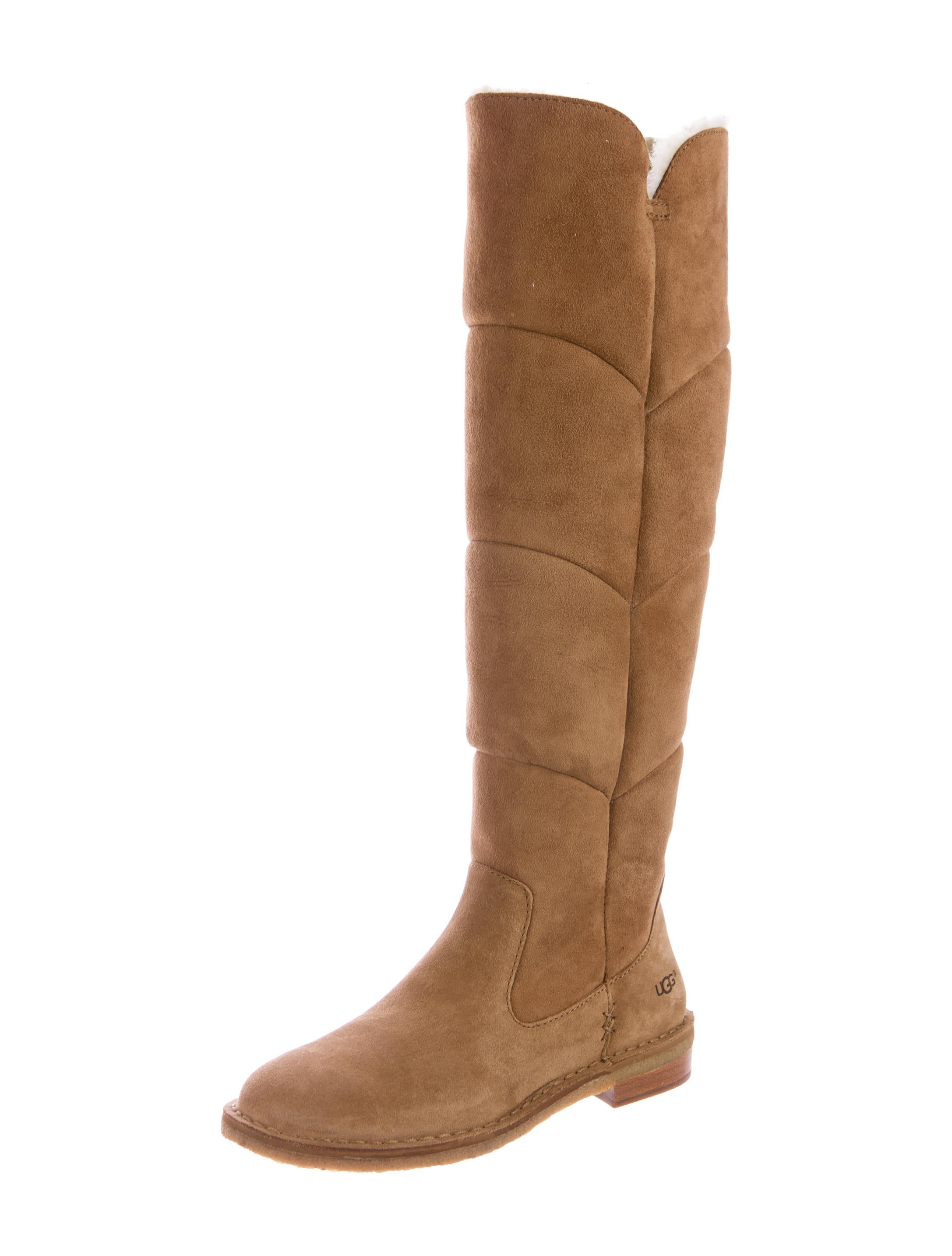 ugg australia shearling knee high boots shoes