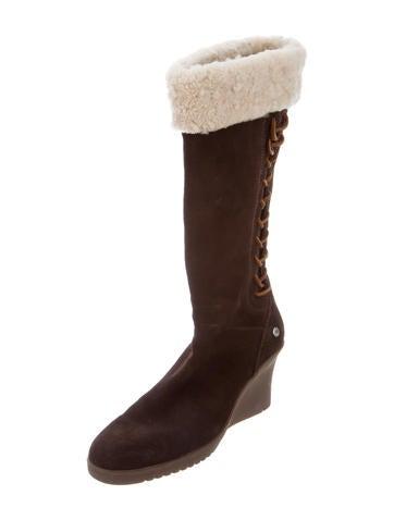 ugg australia felicity wedge boots shoes wuugg22582