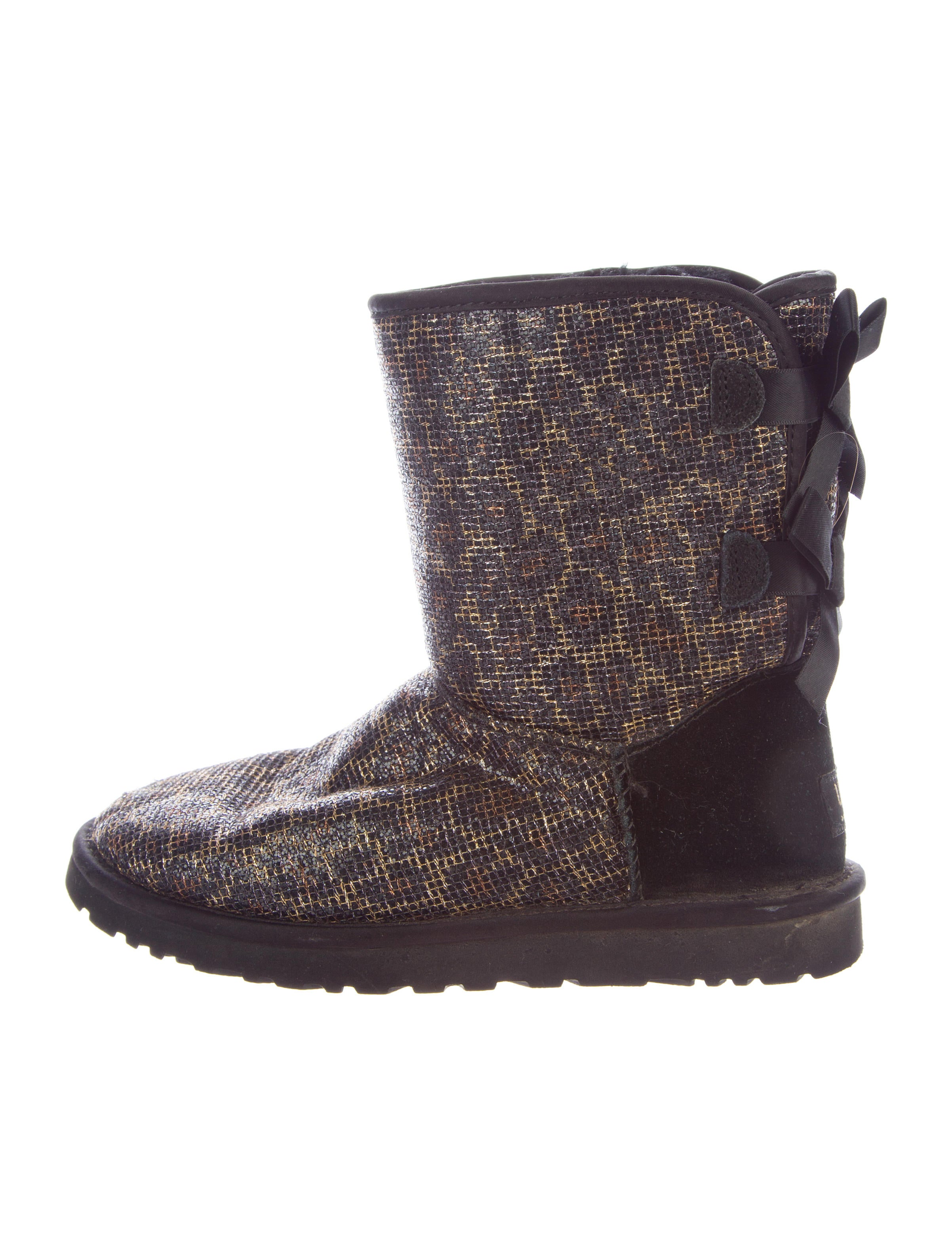ugg australia bailey bow ankle boots shoes wuugg23039