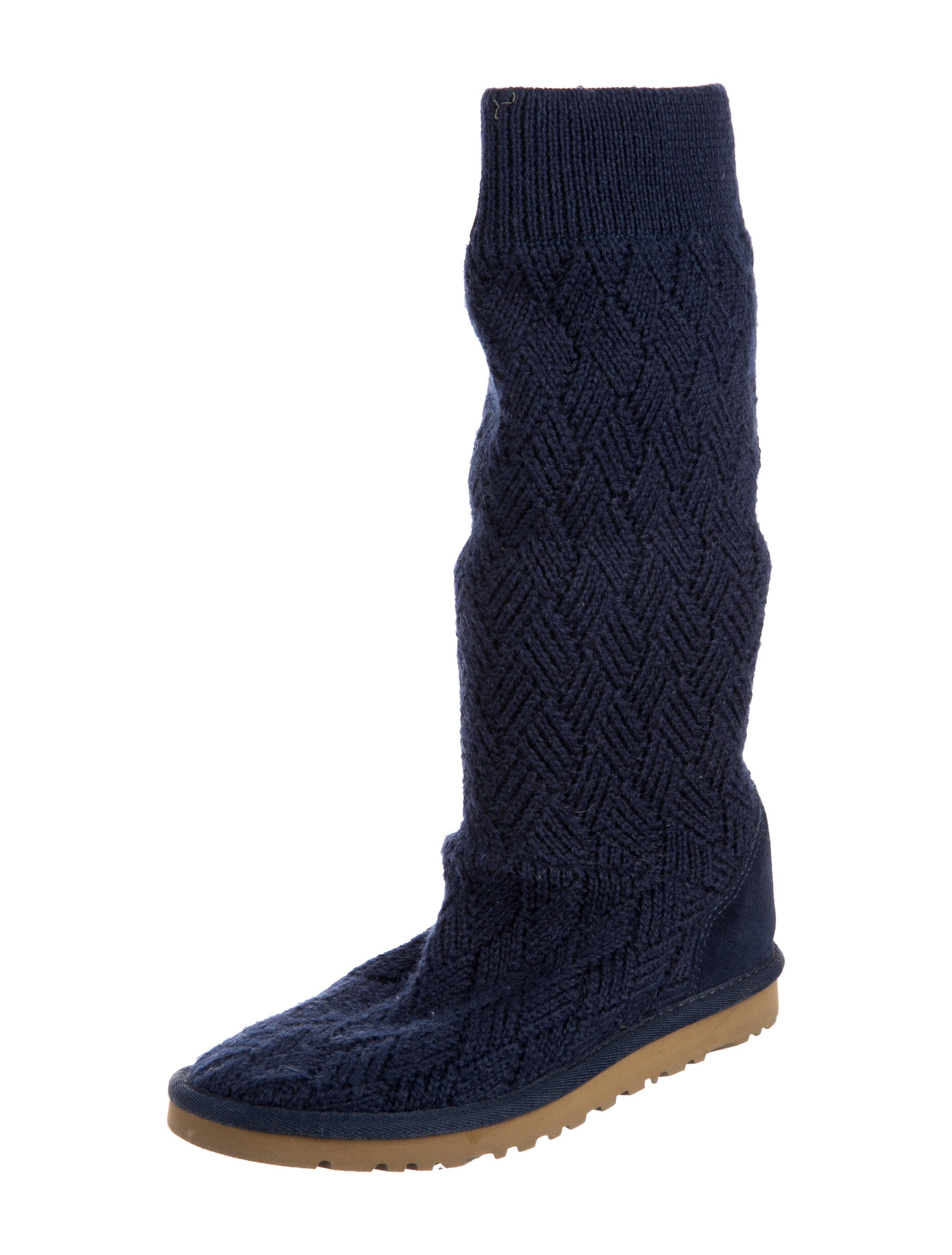 ugg australia knit knee high boots shoes wuugg23310