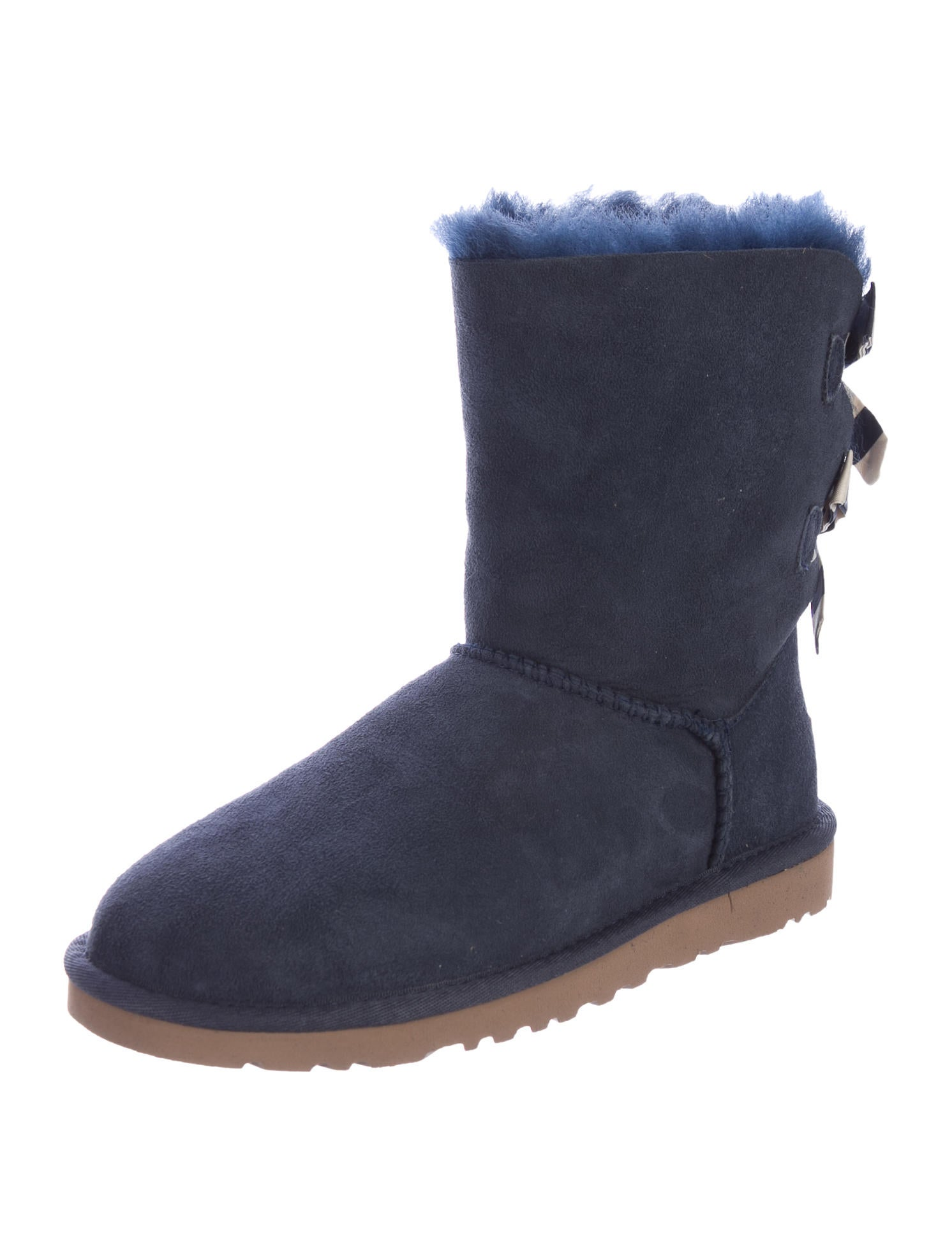 ugg australia suede shearling boots w tags shoes