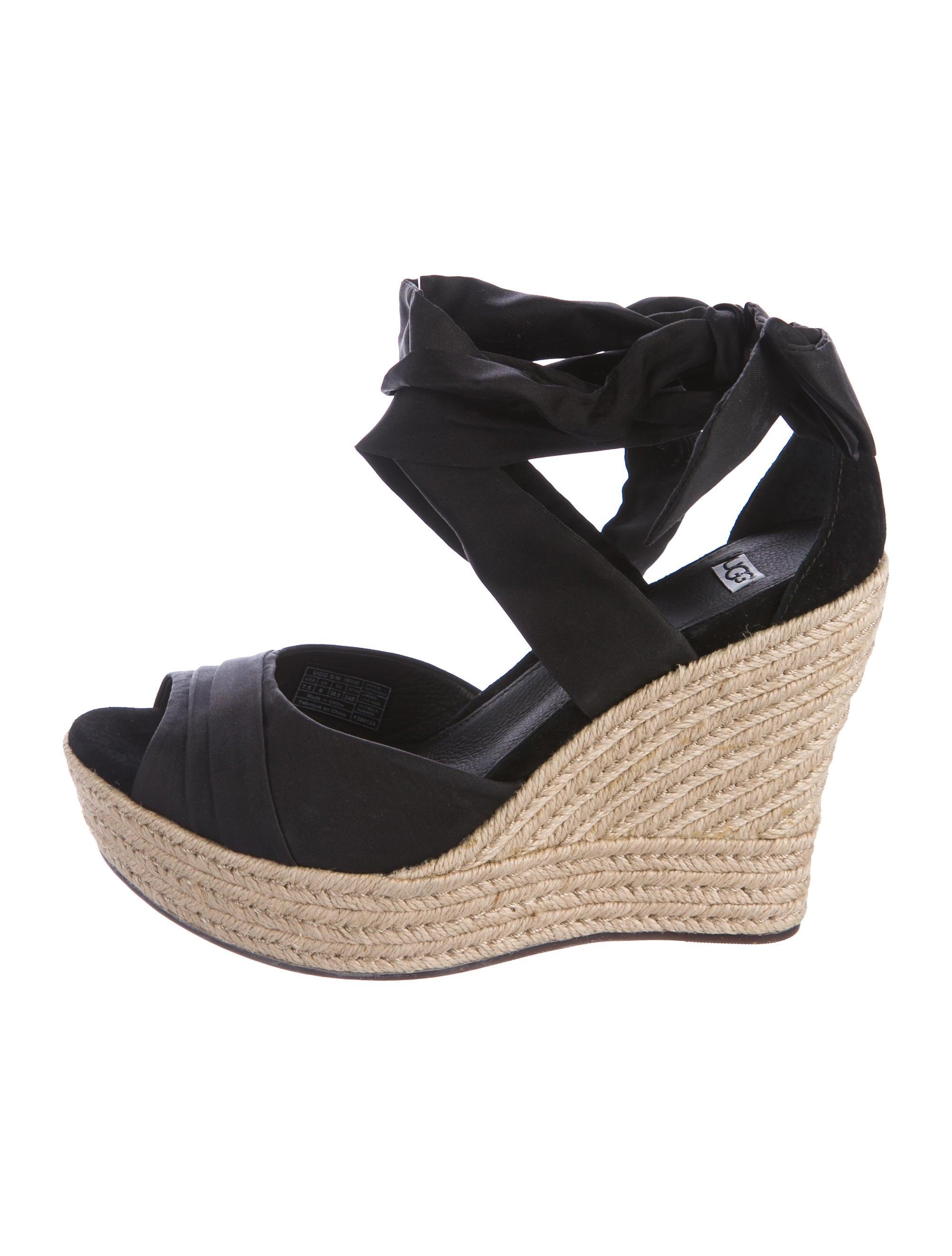 ugg australia platform wedge sandals shoes wuugg23498